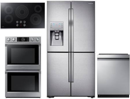 Samsung  1011306 Kitchen Appliance Package Stainless Steel, main image