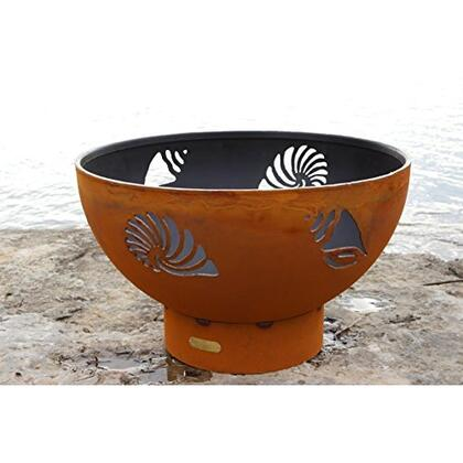 BEACHCOMBER-FPA-MLS120-LP-AWEIS 36″ Fire Pit with 120K BTU Brass Burner  and All Weather Electronic Ignition System – Liquid