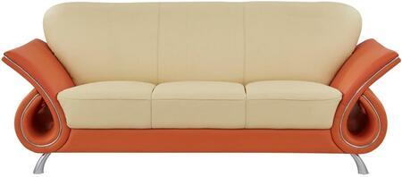 Global Furniture USA U559 U559LVS Living Room Sofa Beige, Main Image