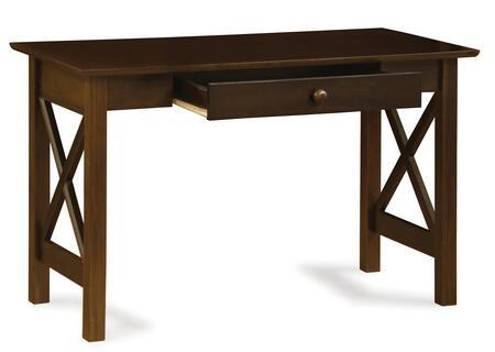 Atlantic Furniture Lexi AH12234 Desk Brown, AH12234 SILO 30
