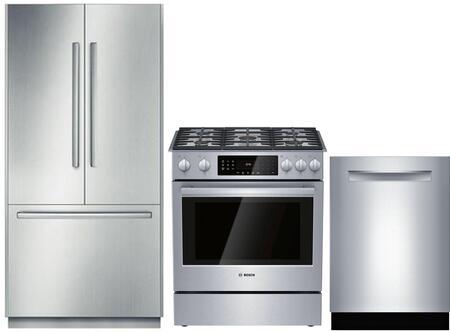 Bosch Benchmark 903273 Kitchen Appliance Package & Bundle Stainless Steel, 1