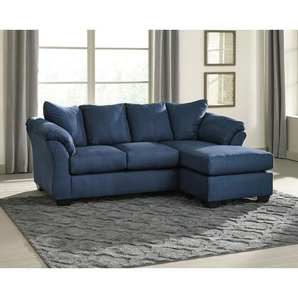 Flash Furniture Darcy FSD1109SOFCHBLUGG Sectional Sofa Blue, FSD 1109SOFCH BLU GG LS
