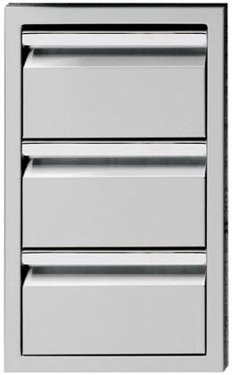 Twin Eagles TESD133B Storage Drawer Stainless Steel, Front View