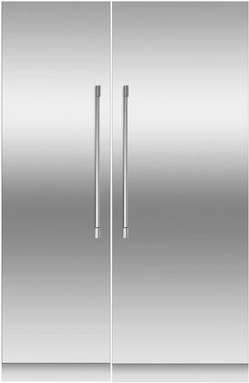 Fisher Paykel  966363 Column Refrigerator & Freezer Set Stainless Steel, 1