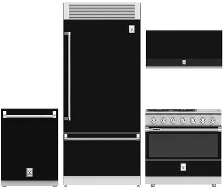 Hestan  963898 Kitchen Appliance Package Black, 1