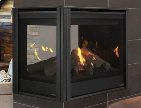 Majestic Pearl II PEARL36PRIN Fireplace Black, Main Image