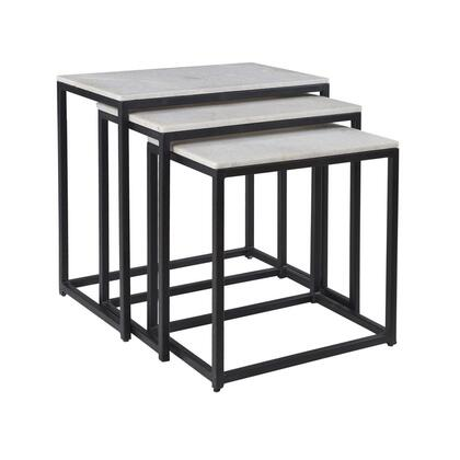 """93413 23.5"""" Set of Three Nesting Tables in Ponga"""