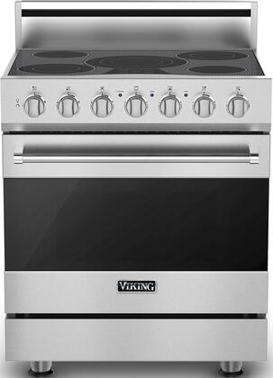Viking 3 Series RVER33015BSS Freestanding Electric Range Stainless Steel, In Stainless Steel