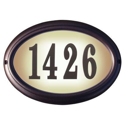 Qualarc Edgewood LTO1302AC Address Plaques, LTO 1302 AC