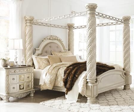 Signature Design by Ashley Cassimore B750KCBBEDROOMSET Bedroom Set Silver, Main Image