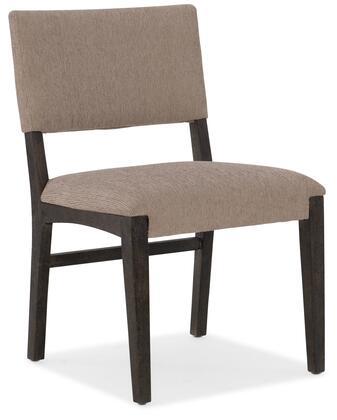 Hooker Furniture Miramar - Point Reyes 620175410MULTI Dining Room Chair Beige, Silo Image