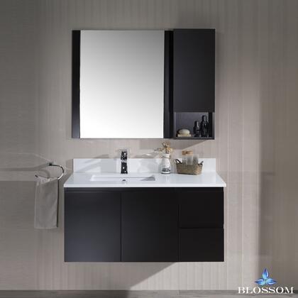 Blossom Monaco 0004202LWHM Sink Vanity Brown, 0004202LWHM 1
