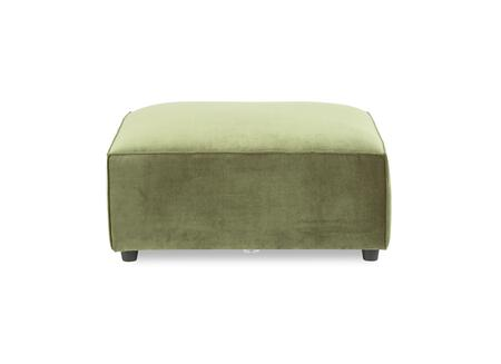 A.R.T. Furniture Bobby Berk Upholstered 5395445003AA Living Room Ottoman Green, Main Image