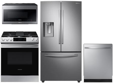 Samsung  1135144 Kitchen Appliance Package Stainless Steel, main image