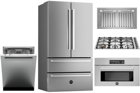 Bertazzoni 1054807 Kitchen Appliance Package & Bundle Stainless Steel, main image
