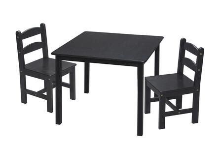 3018E Children's Table and Chair Set with 2 Chairs in