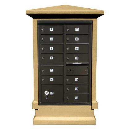 Qualarc Estateview EVMCSHRTBT Mailboxes , EVMC SHRT BT