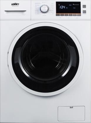 Summit  SPWD2200W Washer & Dryer Combos White, SPWD2200W Front View