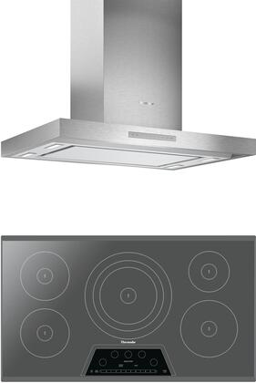 Thermador  1071229 Kitchen Appliance Package Stainless Steel, main image
