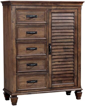 Coaster Franco 200976 Chest of Drawer Brown, Main Image