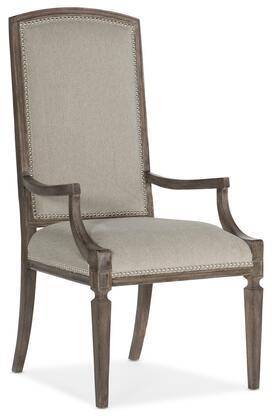 Hooker Furniture Woodlands 58207540284 Dining Room Chair Beige, Silo Image