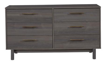 Signature Design by Ashley Brymont EB1011131 Dresser Gray, EB1011 131 HEAD ON SW