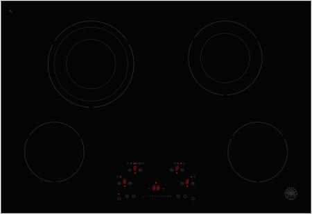 Bertazzoni Professional PE304CER Electric Cooktop Stainless Steel, PE304CER Electric Ceramic Glass Cooktop
