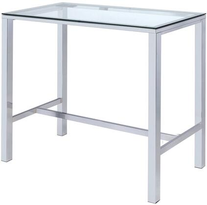 Coaster 104873 Bar Table Silver, Main Image