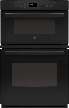 GE  JK3800DHBB Double Wall Oven Black, Main Image