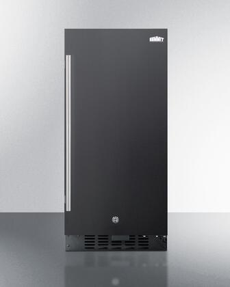 Summit  ALR15B Compact Refrigerator Black, ALR15B Compact Refrigerator