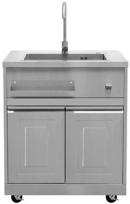 Thor Kitchen Mk01ss304 32 Inch On Cart Outdoor Sink Appliances Connection