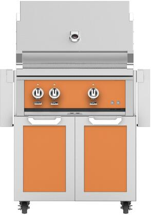 Hestan  852492 Liquid Propane Grill Orange, Main Image
