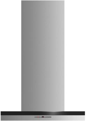 Fisher Paykel Contemporary HC24DTXB2 Wall Mount Range Hood Stainless Steel, Front view