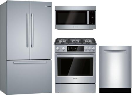Bosch  1135440 Kitchen Appliance Package Stainless Steel, main image