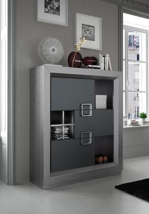ESF Enzo I17784 Cabinet Silver, ENZOUNIT Main Image