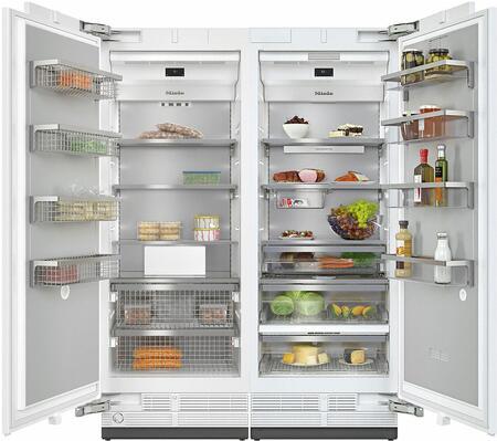 Miele  1082183 Column Refrigerator & Freezer Set Panel Ready, main image