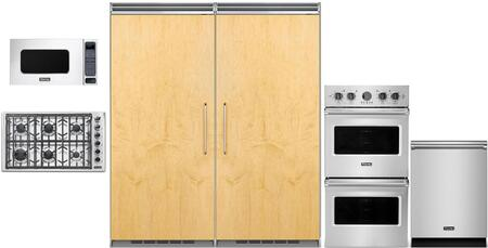 Viking 5 Series 977577 Kitchen Appliance Package Panel Ready, main image