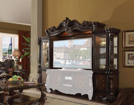 Acme Furniture Versailles 91325 Entertainment Center Brown, Main Image
