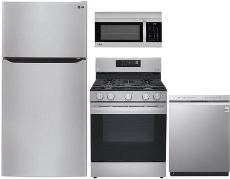 LG  904095 Kitchen Appliance Package Stainless Steel, Main image