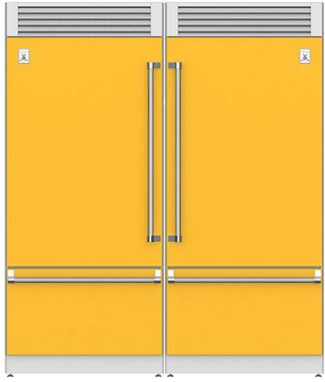 Hestan  915968 Refrigerator Pairs Yellow, Main Image