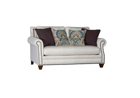 Chelsea Home Furniture Tyngsborough 397240F30LLCB Loveseat White, 397240F30LLCB Front