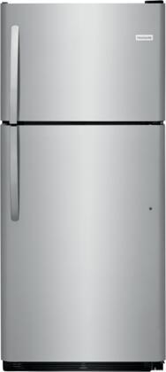 Frigidaire  FFHT2033VS Top Freezer Refrigerator Stainless Steel, Main Image