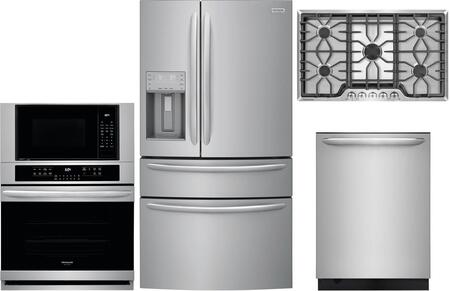 Frigidaire  1010187 Kitchen Appliance Package Stainless Steel, main image