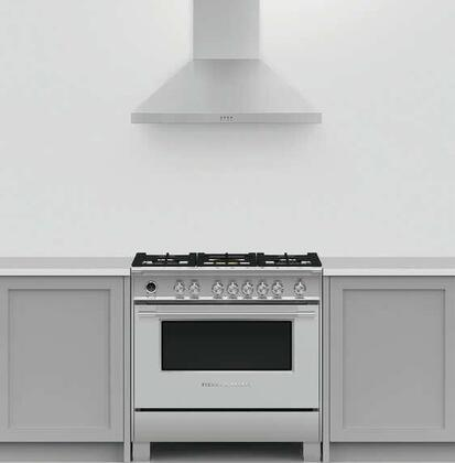 Fisher Paykel  1391588 Kitchen Appliance Package Stainless Steel, 1