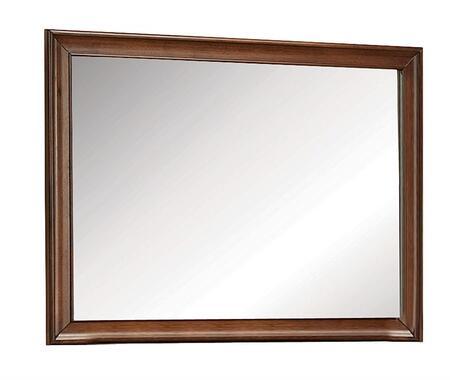 Acme Furniture Konane 20457 Mirror Brown, Angled View