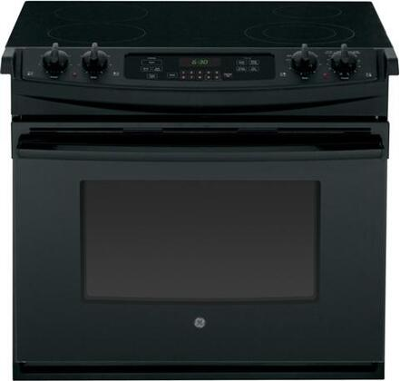 Ge Jd630dfbb 30 Inch Drop In Electric Range With Flush Earance