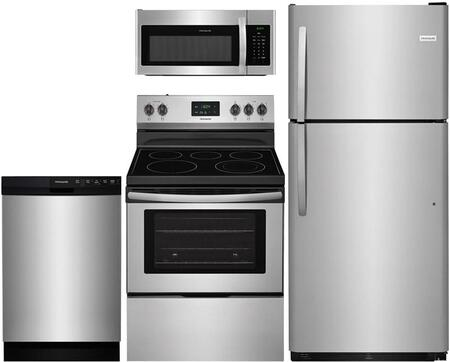Frigidaire  909220 Kitchen Appliance Package Stainless Steel, main image