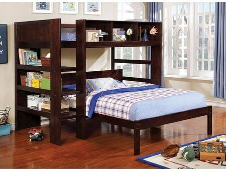Furniture of America Annemarie CMBK965LBED Bed, 1