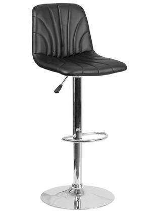 Flash Furniture DS8220 DS8220BKGG Bar Stool Black, DS8220BKGG