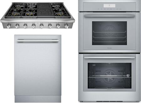 Thermador Professional 1311251 Kitchen Appliance Package Stainless Steel, Main image